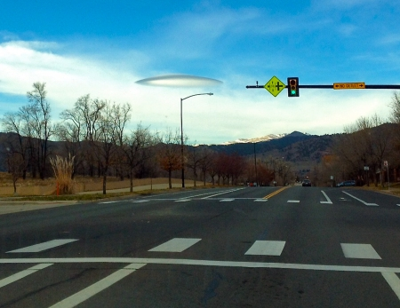 Thanks to Kyle Martin for Capturing this Martian Invasion in Boulder