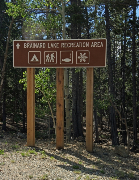 We Start At The Brainard Lake Recreation Area