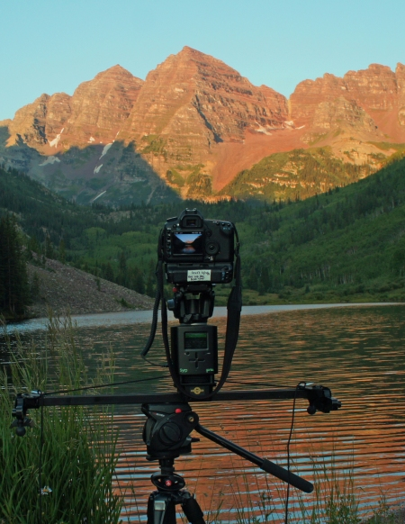 Capturing an Animation of Sunrise on the Maroon Bells