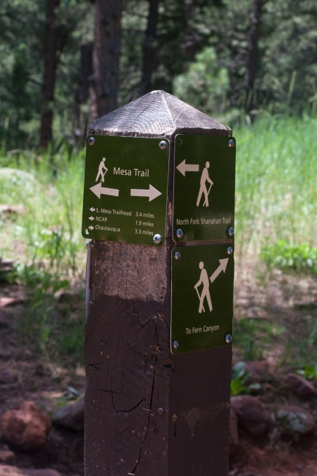 Mesa Trail Sign