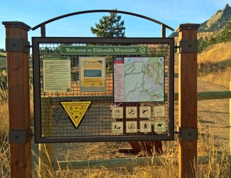 eldorado-mountaintrailhed-sign